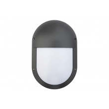 Oval LED1x500 B686 T840 LOUVER