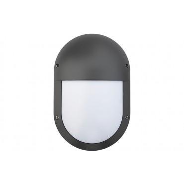 Oval LED1x500 B686 T840 LOUVER
