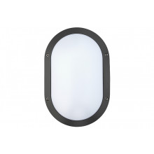 Oval LED1x500 B686 T840 IP65 RAL9005